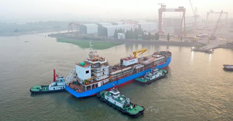 FueLNG LNG bunkering vessel launch (002).jpg