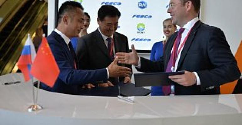 fesco-china companies cooperation_