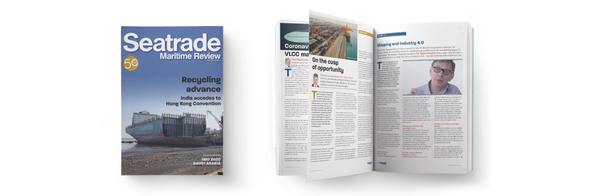 Seatrade Maritime Review, Issue 1 - 2020