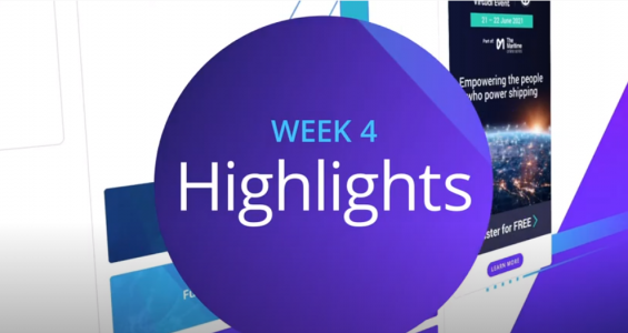Video highlights of the Maritime Online Series week four