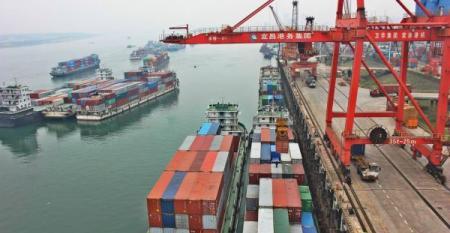 Yichang port