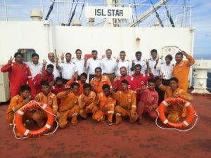 rescued fishermen